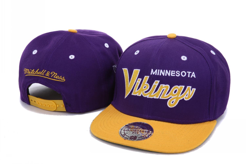NFL Minnesota Vikings M N Snapback Hat NU02  ing 0795  -  18.00 ... aefbebbf4ff