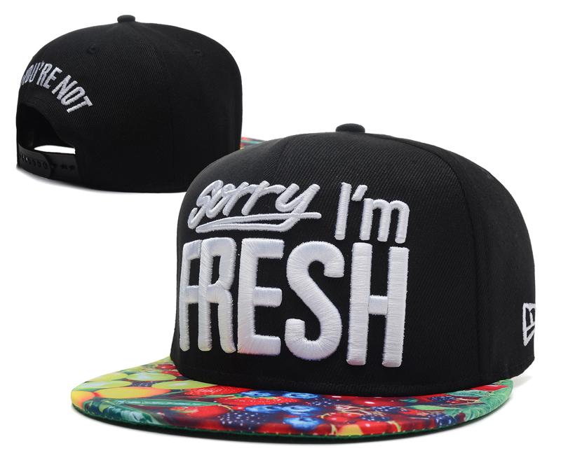Sorry I Am Fresh Snapback Hat  31  ing1407.07 084  -  8.00   Cheap ... e73aa9c6868